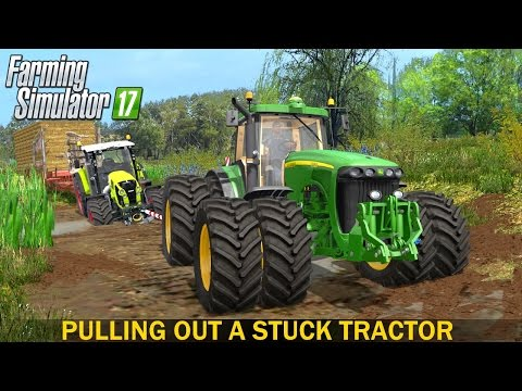 Video Farming Simulator 17 Pulling Out a Stuck Tractor download in MP3, 3GP, MP4, WEBM, AVI, FLV January 2017