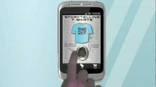T-SHIRT QR SCANNER & CREATOR YouTube video
