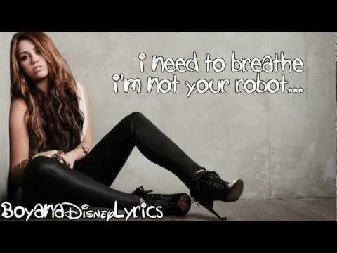 Miley Cyrus – Robot (Lyrics Video) HD