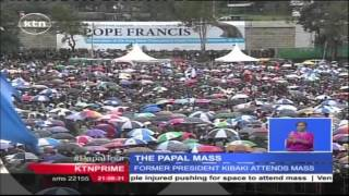 Pope Francis Calls For Unity In His First Mass On African Soil At University Of Nairobi