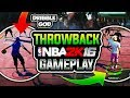 NBA 2K16 THROWBACK AT MYPARK!🔥 WITH 1# DRIBBLE GOD!  6'7 99 OVR DEMIGOD! PARK AFFILIATIONS