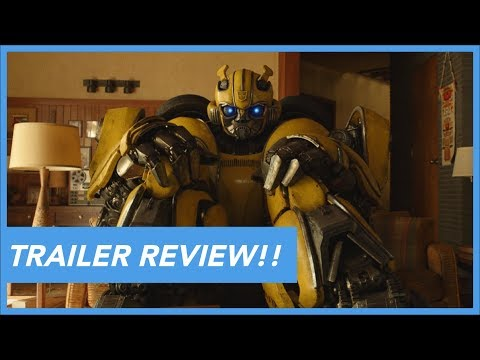 'BumbleBee' Trailer #1 Review
