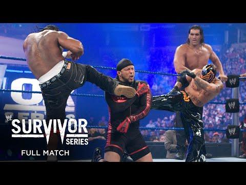 FULL MATCH - Team HBK vs. Team JBL – 5-on-5 Survivor Series Elimination Match: Survivor Series 2008