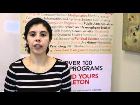 Watch Video: Trillium Scholar Maria-Esther Coronado-Martinez