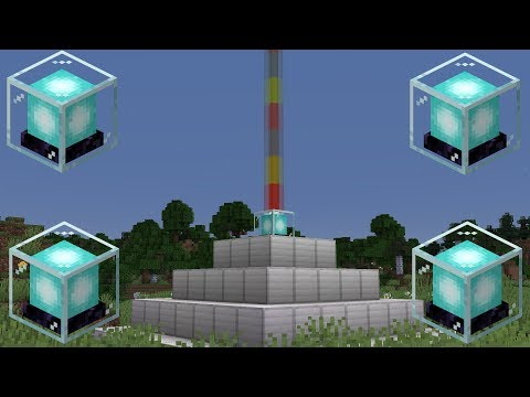 How to Make and Use a Beacon in Minecraft [1.14.4]