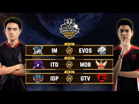 Trực Tiếp - IGP Gaming vs GTV - Vòng 3 - Đấu Trường Danh Vọng Series B Mùa 1 - Thời lượng: 4:02:41.