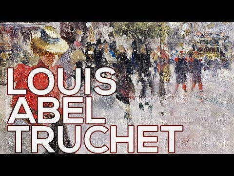 Louis Abel Truchet: A collection of 92 paintings (HD)