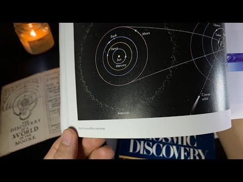 (2 Hr) New Astronomy/Space Books | (Thunderstorm) Soft-Spoken ASMR