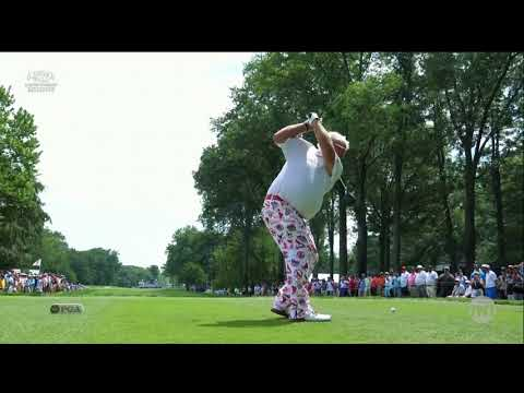 John Daly rocks St. Louis Cardinals pants at Bellerive