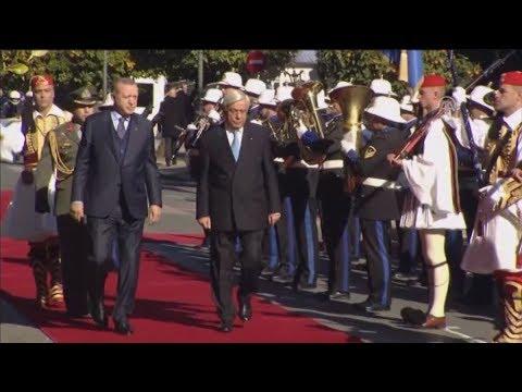 Στο Προεδρικό Μέγαρο ο Ρετζέπ Ταγίπ Ερντογάν