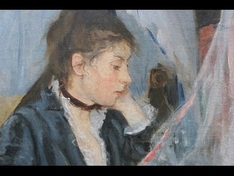 Morisot The Cradle Video Impressionism Khan Academy