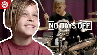 7-Year-Old Is STUNNING On The Drums | No Days Off by Whistle Sports