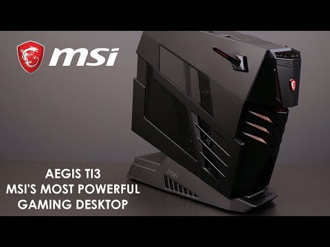 Aegis Ti3 - The most extreme MSI Gaming PC | Gaming Desktop | MSI