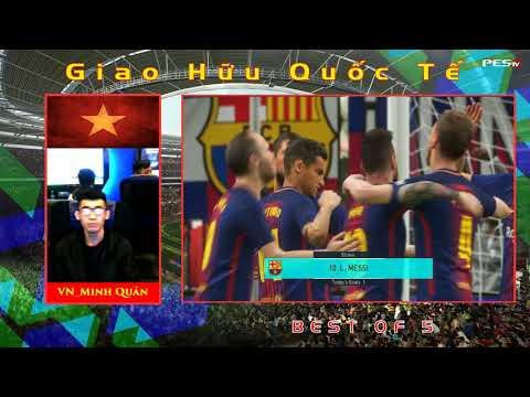 Giao hữu quốc tế | VN_Minh Quân vs HK_Anthoyny 11-12-2018  BLV: G_Bờm