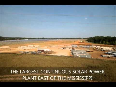 Simon Solar Farm at Georgia - 38.6 Mwp Solar Power Plant