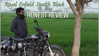 10. Royal Enfield Classic 500cc Stealth Black Honest Review | Mileage, Vibrations, EFI, Modifications
