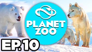 Planet Zoo: Arctic Pack Ep.10 - • SIBERIAN TIGER, NEW LAKE, ZOO EXPANSION!!! (Gameplay / Let's Play)