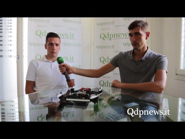 Viticoltura di precisione con i droni, Riccardo Masutti di Follina lancia Enodron
