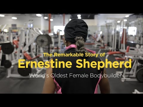The Remarkable Story of Ernestine Shepherd (видео)