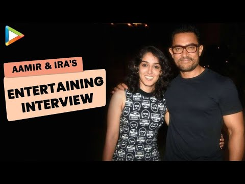 Aamir Khan & Ira Khan Exclusive Full Interview