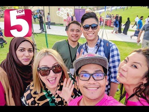 Top 5 selfie spots in Qatar!