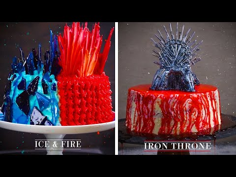 3 Amazing Game Of Thrones Fantasy Cakes!! | Magical Cakes, Cupcakes And More By So Yummy