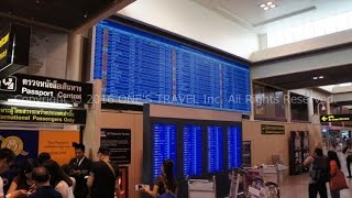 タイの交通・ドンムアン空港(国際線ターミナル)