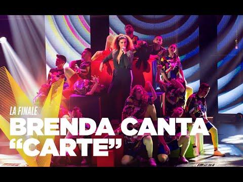 "Brenda Carolina Lawrence  ""Carte"" - Finale - The Voice Of Italy 2019"