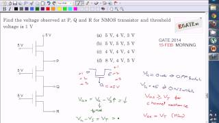 Video Problem on NMOS Pass transistor Logic (GATE 2014 ECE Paper Solution) MP3, 3GP, MP4, WEBM, AVI, FLV Juli 2018