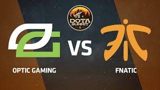OpTic Gaming против Fnatic, Вторая карта, DOTA Summit 9 LAN-Final