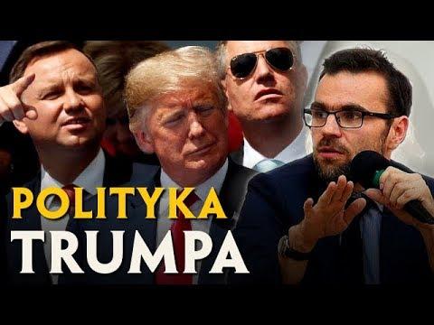 ZACHOWANIE TRUMPA to NIE BUFONADA, a celowa polityka | Jacek Bartosiak видео