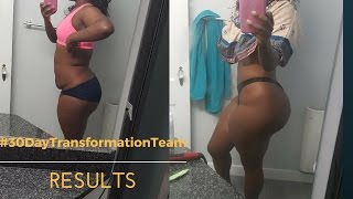 Video 30 Day Transformation Team Results (ThickThick to SlimThick) MP3, 3GP, MP4, WEBM, AVI, FLV Desember 2018