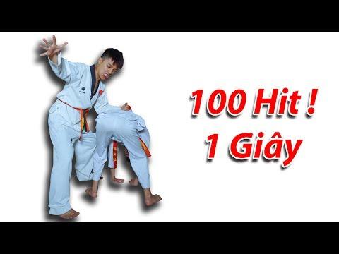 NTN - Thử Đấm 100 Hit Trong Vòng Một Giây ( 100 Hit One Second ) (видео)