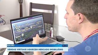 Bauru: vendas virtuais aquecem mercado imobiliário