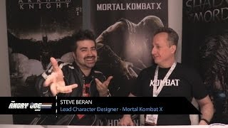Mortal Kombat X - Angry Interview E3 2014