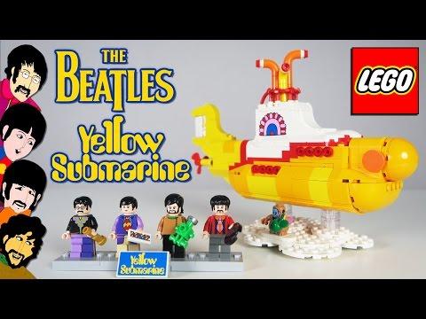 LEGO Желтая Подводная Лодка - Brickworm