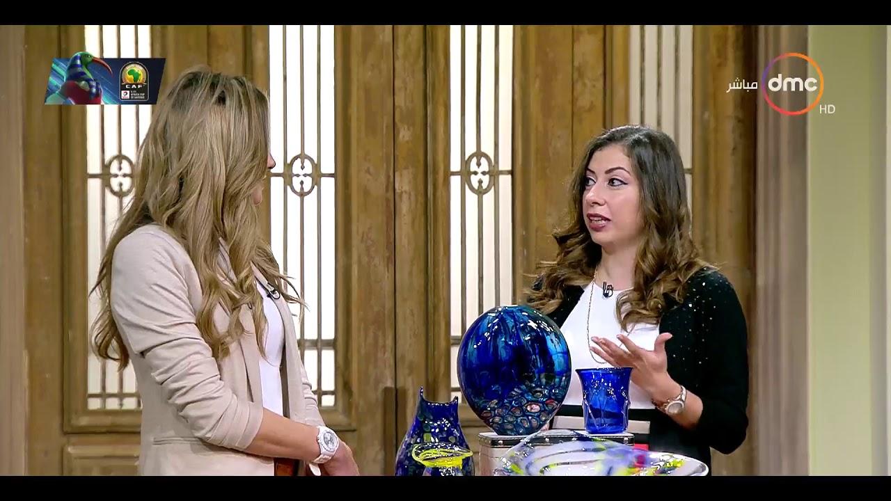 """السفيرة عزيزة - حوار مع """"أفروديت وسيم السيسي"""" أول مصرية تحترف فن النفخ في الزجاج"""