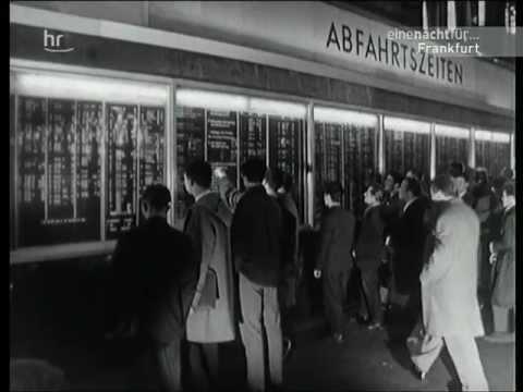 Der Hauptbahnhof Frankfurt - Deutschlands bedeutendster Schienenknotenpunkt (1962)