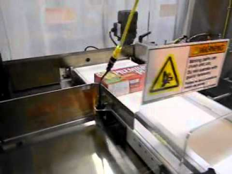 HL350SA Crackers Semi-Automatic Side Load Case Packer