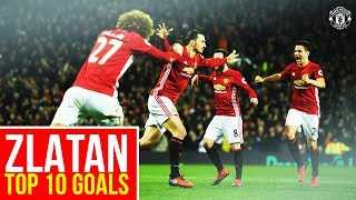Video Zlatan Ibrahimovic | Top 10 Goals for Manchester United MP3, 3GP, MP4, WEBM, AVI, FLV Agustus 2019