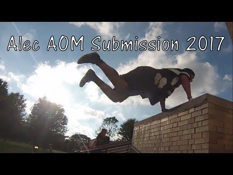 Alec Mann Redbull Art of Motion Submission 2017 (видео)