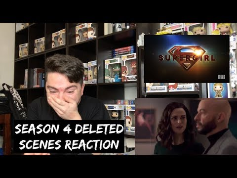 SUPERGIRL - SEASON 4 DELETED SCENES REACTION