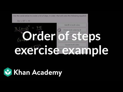 Solving quadratics by taking square roots: strategy (video) | Khan ...