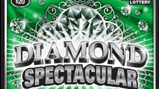 Diamond Spectacular Instant Lottery Ticket Big Winner #1