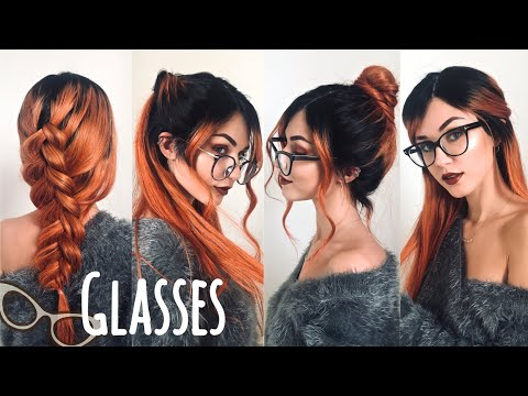 4 Easy Hairstyles to Try with Glasses