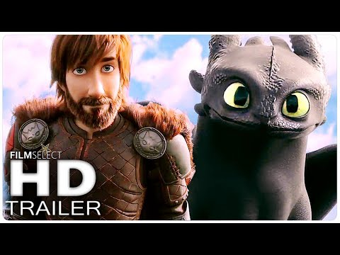 HOW TO TRAIN YOUR DRAGON 3 Trailer (2019) (видео)