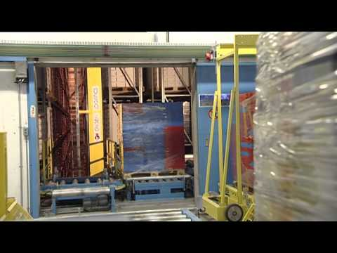 Palettenfördertechnik / Fördersysteme für Paletten / Palettenaufzug