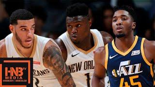 Utah Jazz vs New Orleans Pelicans - Full Game Highlights   October 11, 2019 NBA Preseason