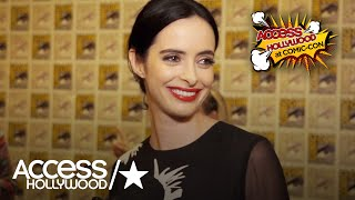 """At Comic-Con 2017, """"Marvel's The Defenders"""" star Krysten Ritter tells AccessHollywood.com what it's like being at her first Comic-Con. Plus, what can she reveal about the force that brings Jessica Jones together with the Defenders?» SUBSCRIBE: http://bit.ly/AHSub» Visit Our Website: http://www.AccessHollywood.com/Get More Access Hollywood:Facebook: https://www.facebook.com/AccessHollywoodTwitter: https://twitter.com/accesshollywoodInstagram: http://instagram.com/accesshollywoodSnapchat: OfficialAccessAbout Access Hollywood:""""Access Hollywood"""" is a nationally syndicated daily entertainment news show. """"Access Hollywood"""" delivers the most comprehensive coverage of entertainment news and personalities on television, featuring in-depth celebrity interviews and behind-the-sc enes accounts of the most important events in Hollywood.'Marvel's The Defenders': Krysten Ritter On Jessica Jones Joining The Super-Group  Access Hollywoodhttps://youtu.be/naY-fuekEpMAccess Hollywoodhttps://www.youtube.com/user/AccessHollywood"""