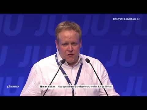 JU-Deutschlandtag: Siegesrede des neuen Bundesvorsitzenden Tilman Kuban am 16.03.19